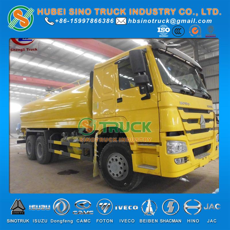 HOWO 6x4 Water Tanker Truck