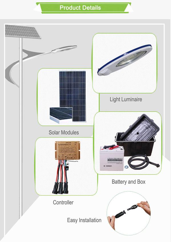 IP65 Solar Street Lights