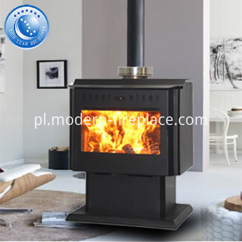 With Fan Wood Burning Fireplaces