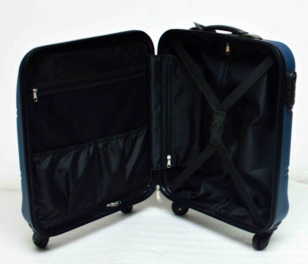 Hardside 4 Spinners 19'' Carry-on ABS Trolley Case