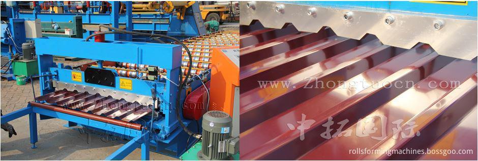 Trapezoidal metal sheet forming machine ZT25-200-1000 ZT25-200-1000 06