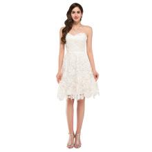 A-Line/Princess Lace Knee Length Cocktail Dinner Dresses