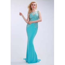 Sheath/Column Chiffon Sweep Train Evening Gown Patterns