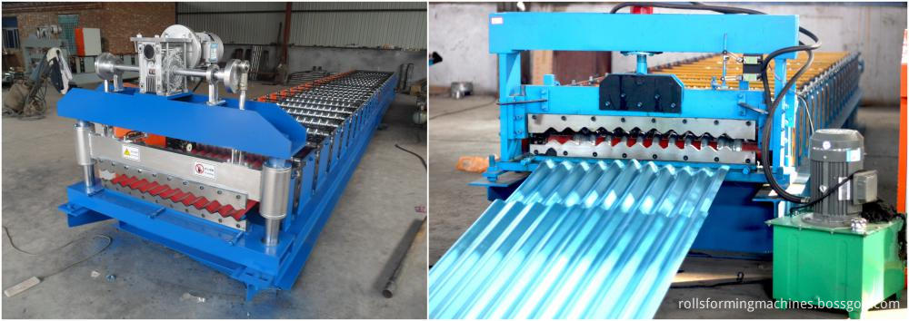 corrugated roof sheet making machine 07