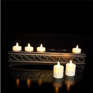 rechargeable luminara candle