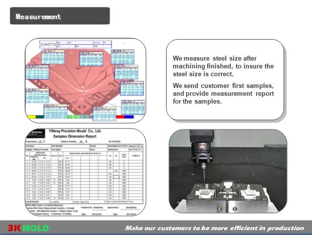 Automotive 2K Injection Tool