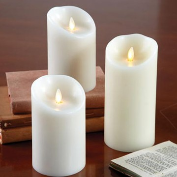 lvory led luminara candles