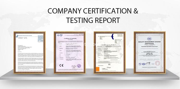 certification& test report