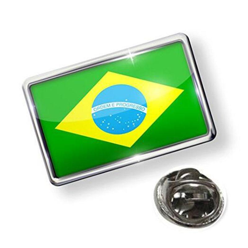 Pin Brazil Flag