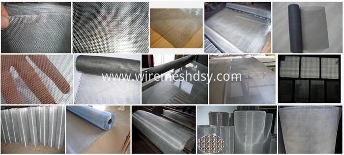 Aluminum window screening