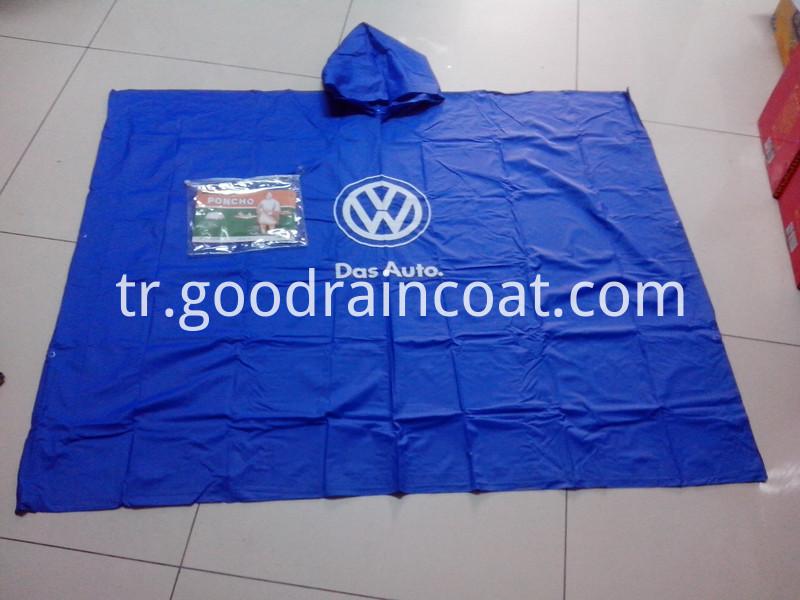 promotional rain poncho