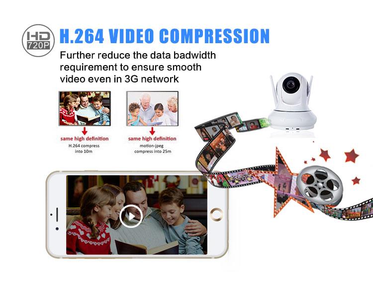 H.264 IP Camera