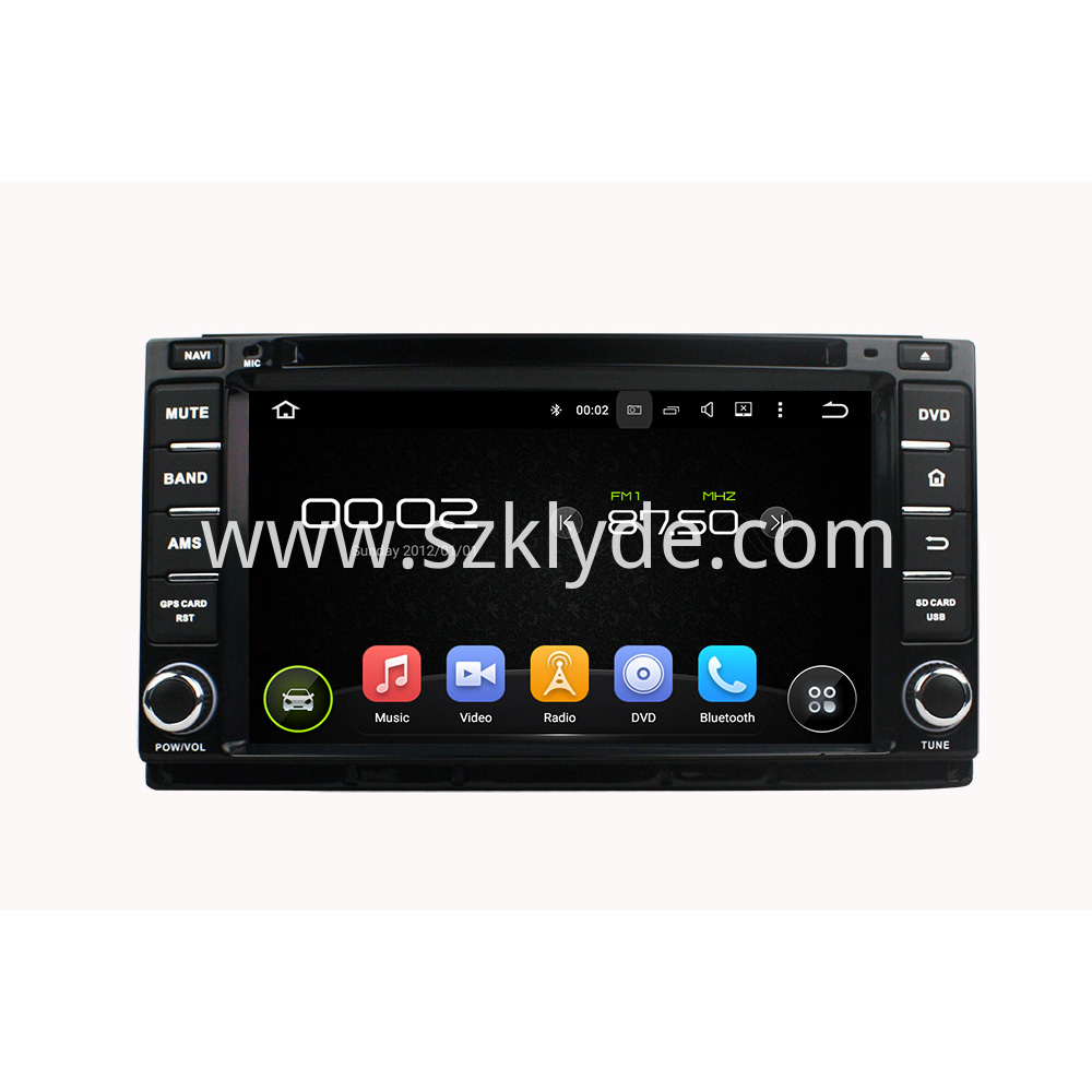 M4 dvd player for Great wall series
