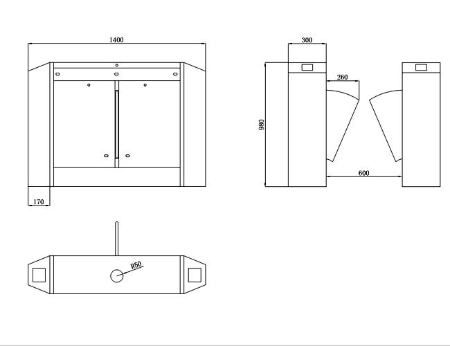 Flap Barrier System