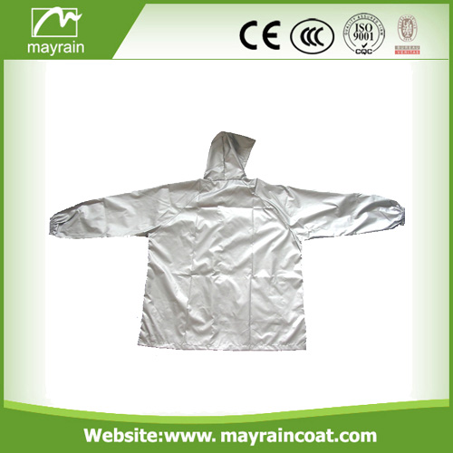 Gray Polyester Outdoor Jacket