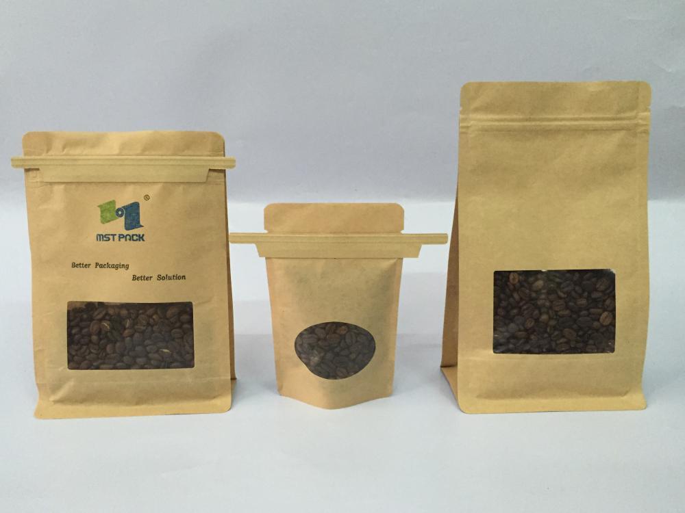 Bio-degradable Kraft Paper Bag