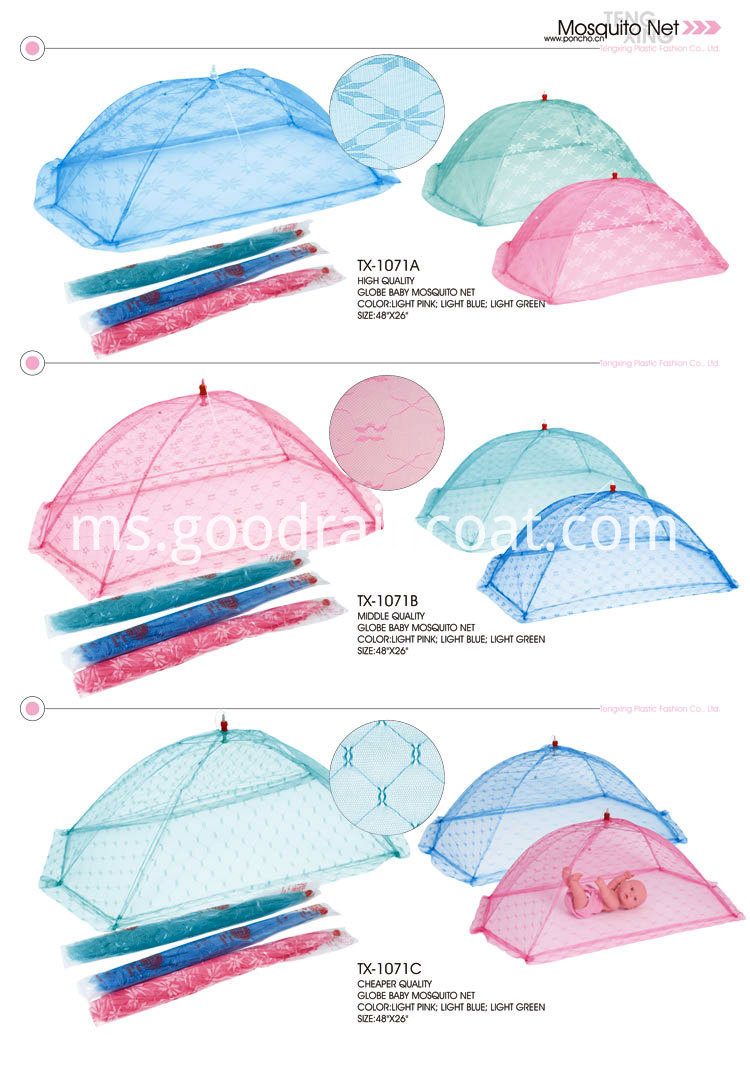 Swing Bed with Mosquito Net