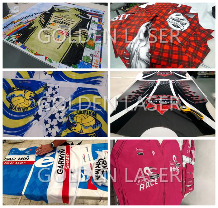Sublimation Printed Fabrics and Textiles Laser Cutting