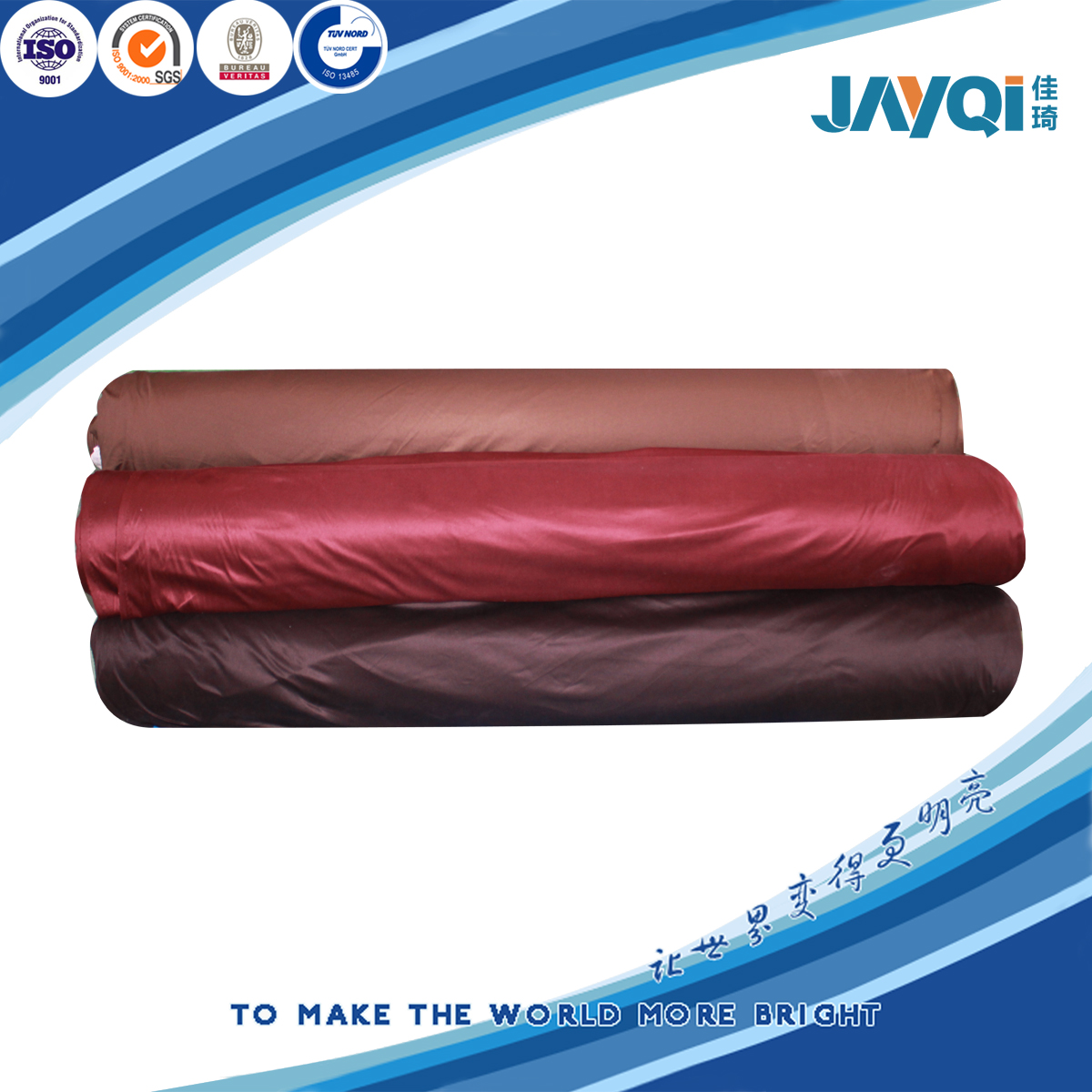 Cheap 100% Polyester Kintting Fabric Roll