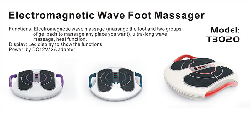 Electromagnetic Foot Massager