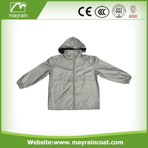 Gray Cycling Wear Jacket