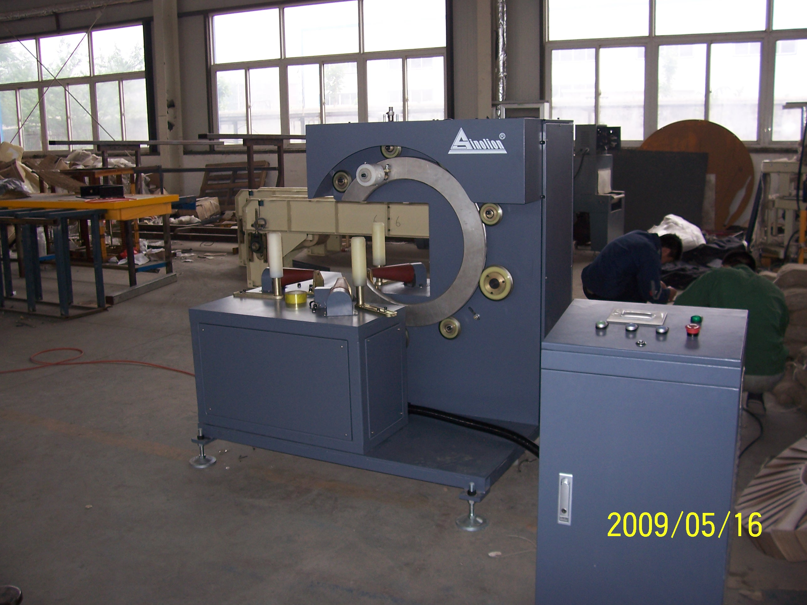 Ring Wrapping Machine