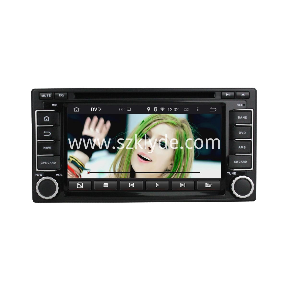 Subaru Forester/Impreza android car DVD player