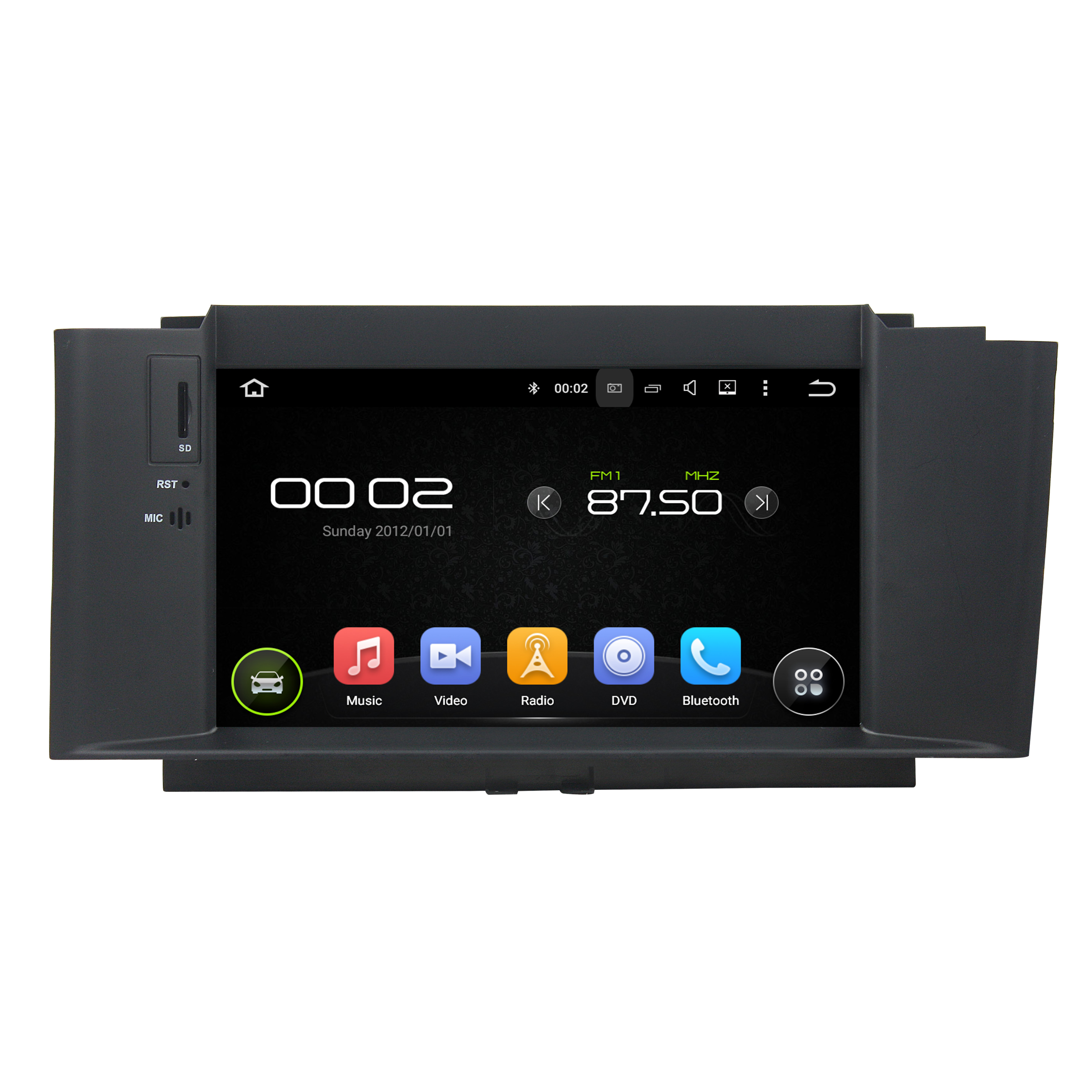 C4 2012-2014 canbus included dvd player