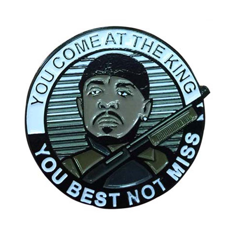 Military Pin Badge