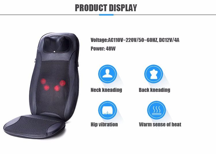 2017 Electric Car Foldable Cushion