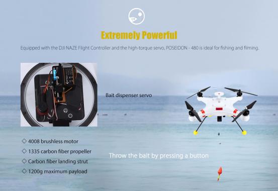 Lake Fishing Drone