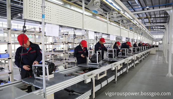 Factory for Gas Generator