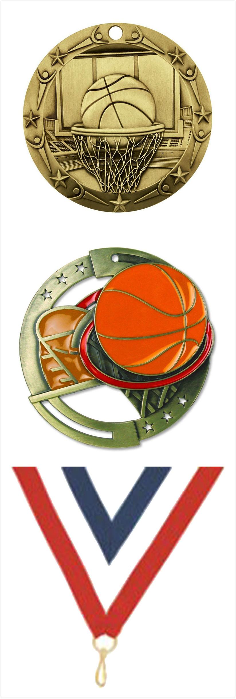 Basketball World Class Gold Medals