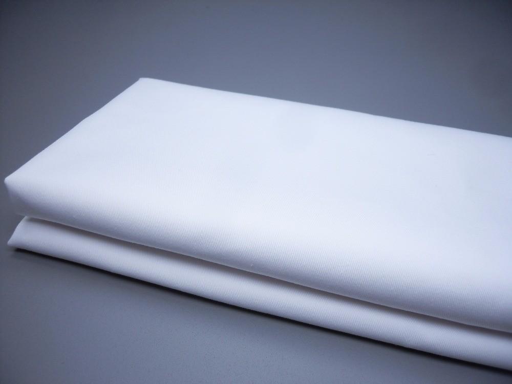 white twill fabric