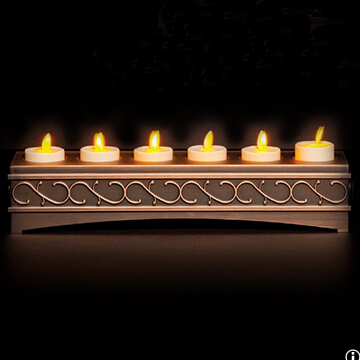 moving wick flameless tealight