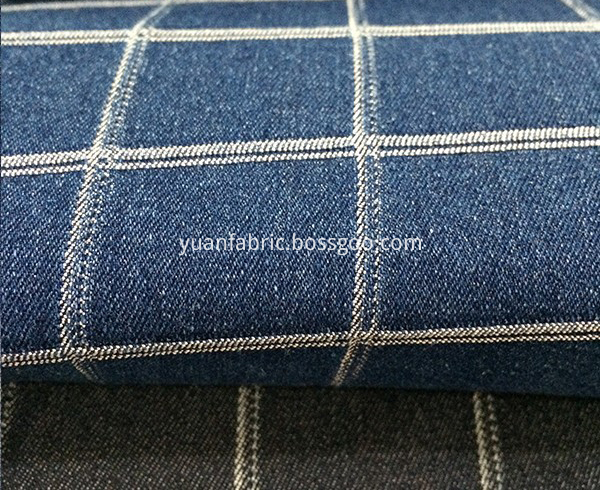 Aufar Fashion Denim Coated Soft Custom Jacquard84