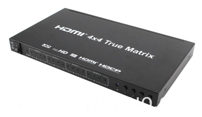 4x4 Matrix hdmi switcher