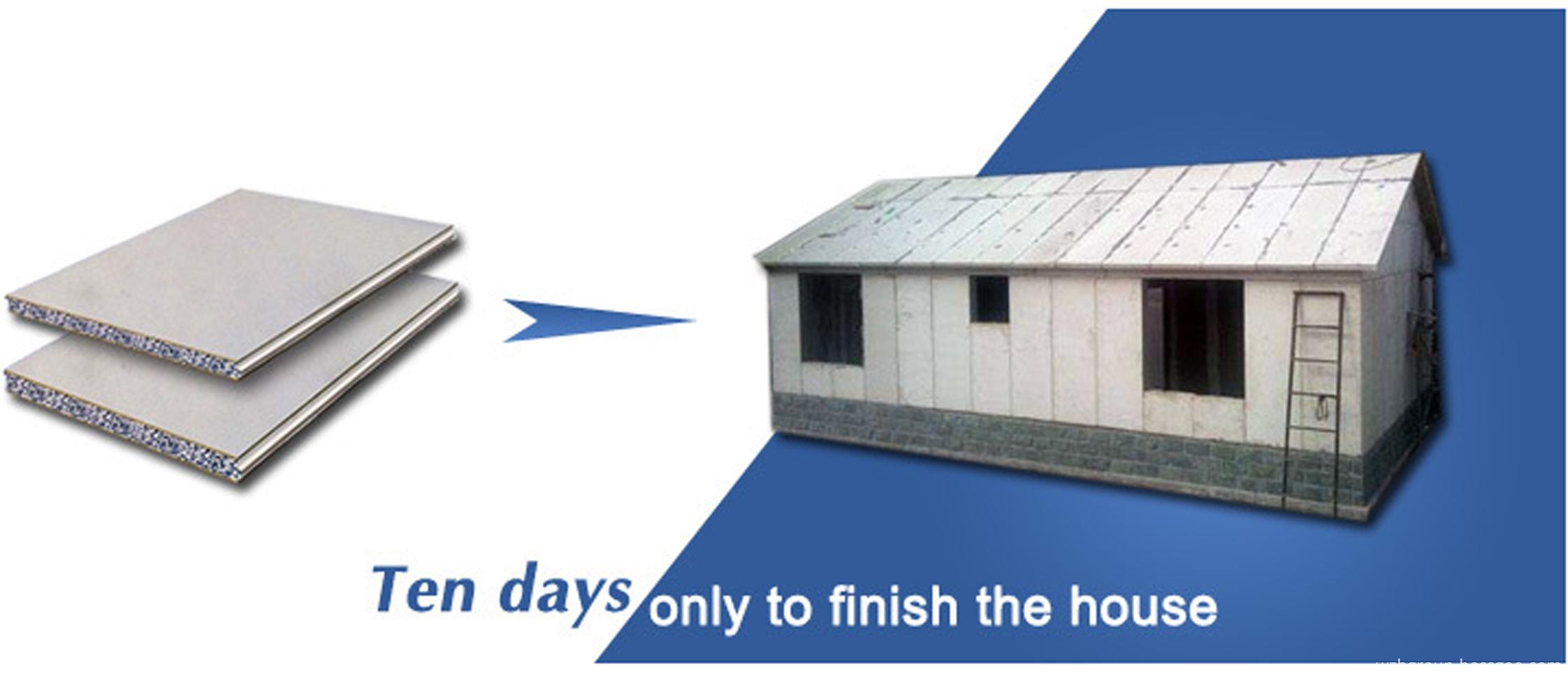 foam cement prefab house 1