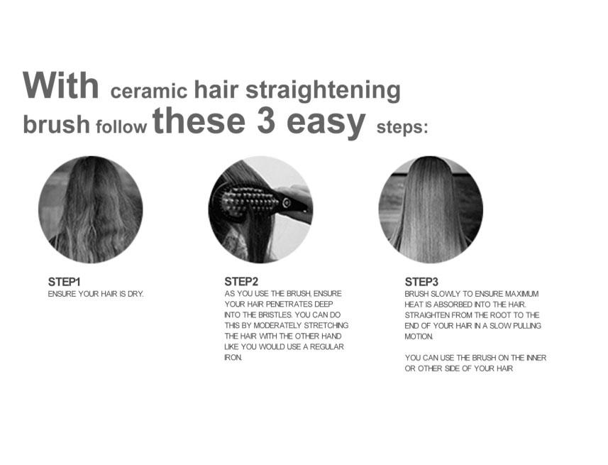 Hair Brush Use Guide