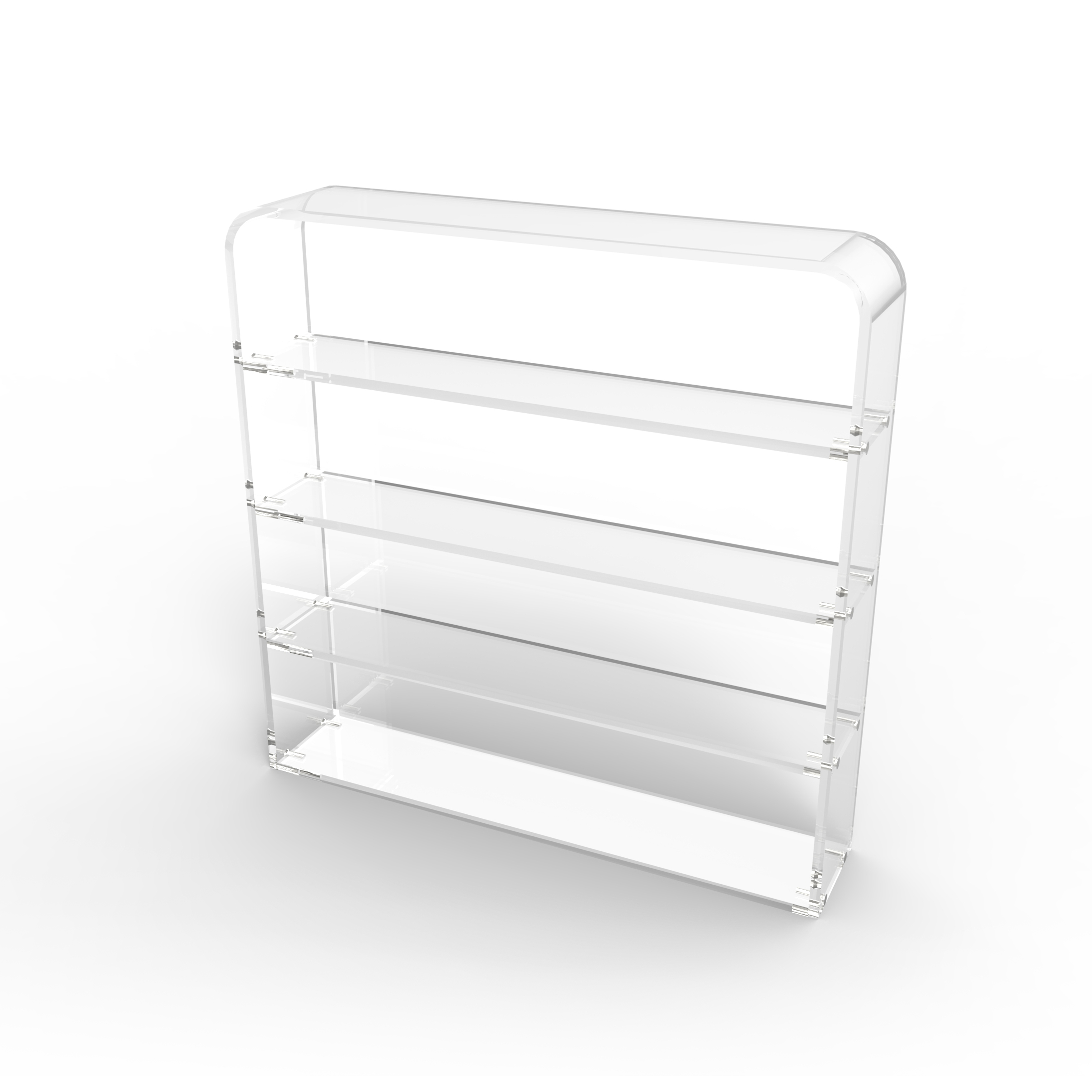 Acrylic Wall Mounted Cosmetic Display Holder