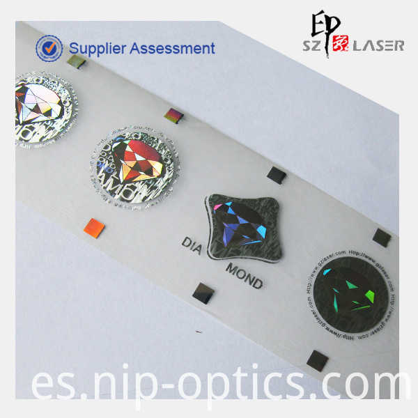 hologram security strip label