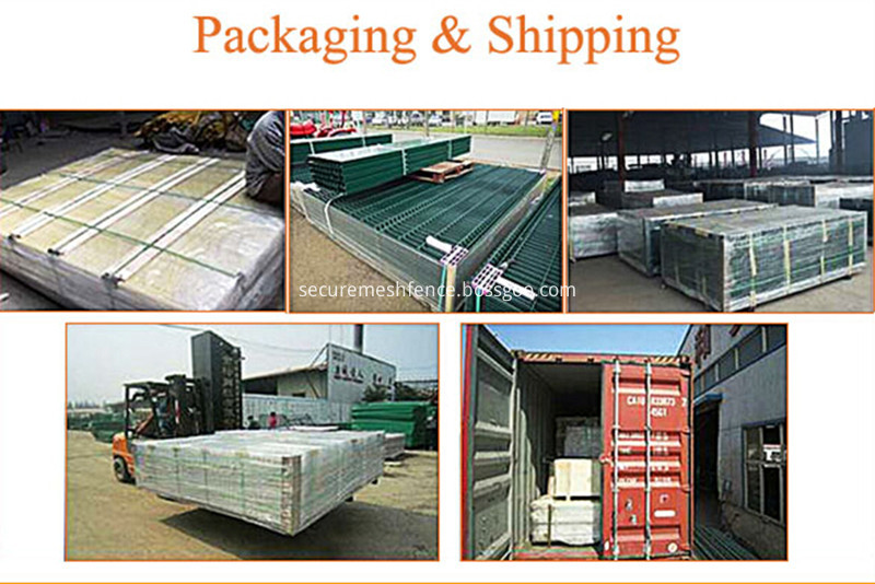 security fence packing