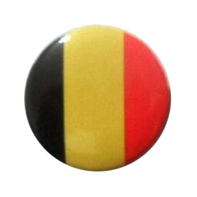 National Country Flag Button Badge
