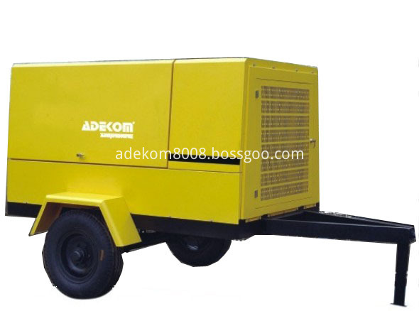 Diesel Engine Driven Rotary Compressor