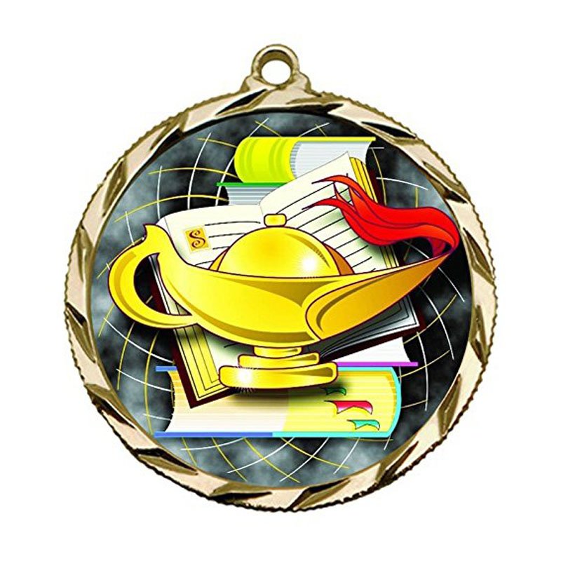 Lamp Of Knowledge Medals