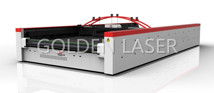 Flatbed Laser Cutter Industrial Fabric