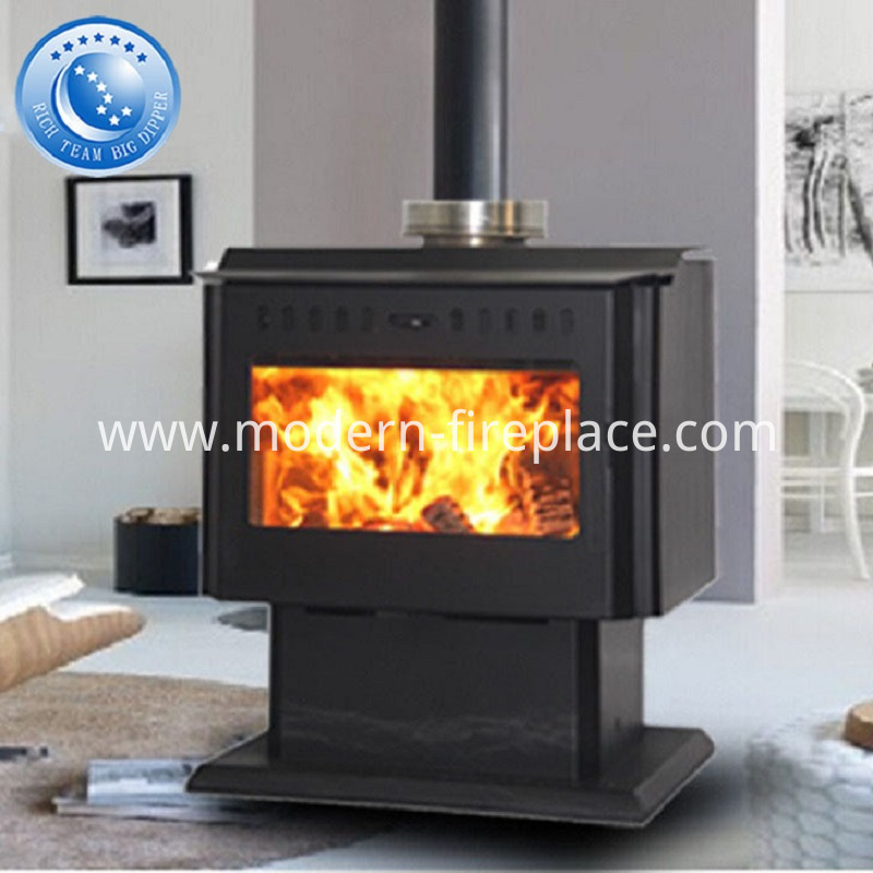 Fitting A Wood Heat Stoves Fire