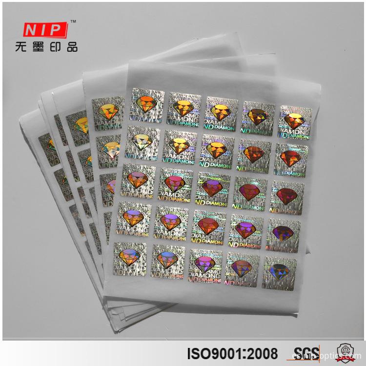 Diamond Hologram Sticker