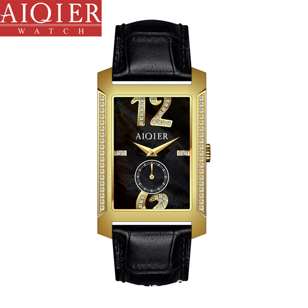Miyota Movt Classic Diamond Watch