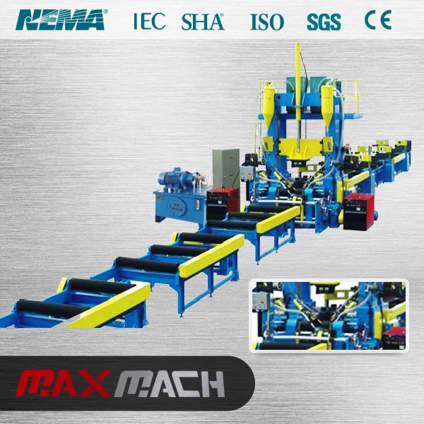 Continuous automatic H-Beam Welding machine